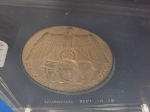 A Really Cool Table Medal