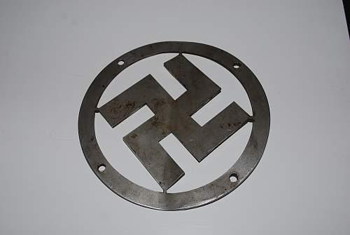 Nazi radiator badge?