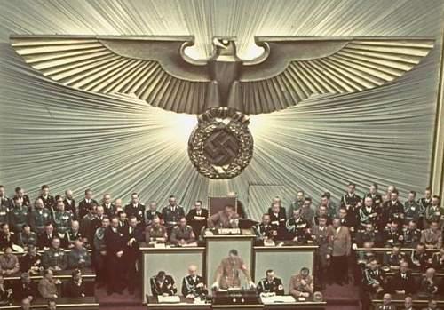 Reichstag wall eagle replicas?