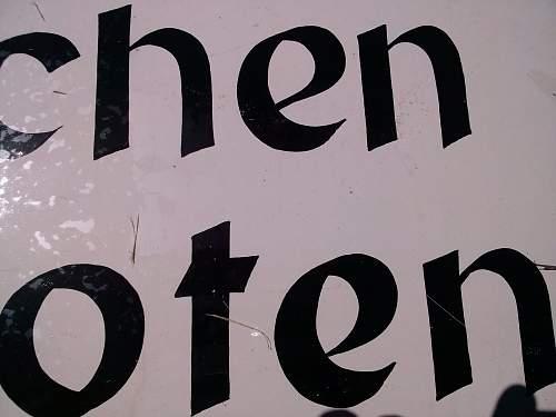 RAUCHEN VERBOTEN - NO SMOKING Sign