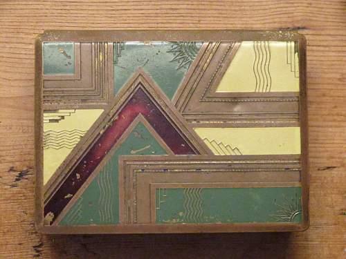 Experssionist/Art Deco Flak Box