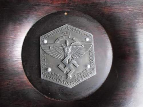 NSFK 1939 Competition Plaque