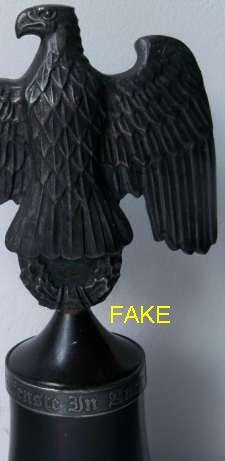 EAGLE DESK ORNAMENT  real or fake?