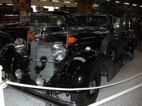 Classic Cars of the Third Reich - Where are they now ?