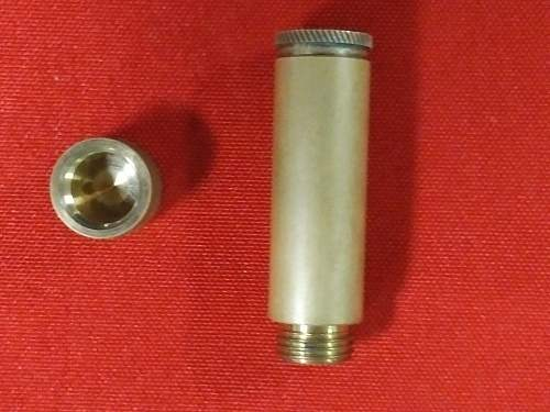 Himmler's cyanide capsule holder?