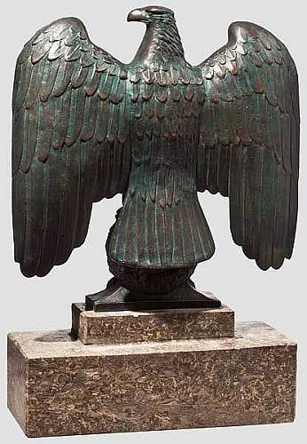 HELP IS IT REAL Third Reich Desk Eagle