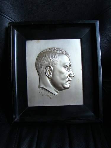 Adolf Hitler Plaque