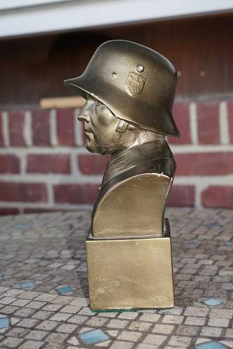 Soldier Bust - Plaster...Thoughts?