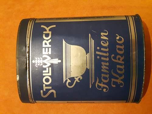 Stollwerck tin - 3. Reich?