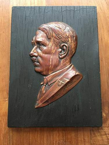 Another Hitler Plaque
