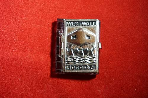 West Wall Miniature Book?