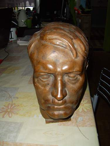 Bronze Head of Hitler, what is this worth?