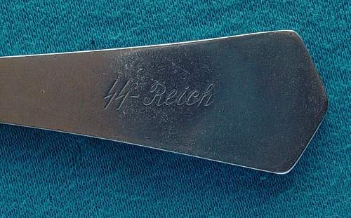 SS Reich spoons genuine or fake