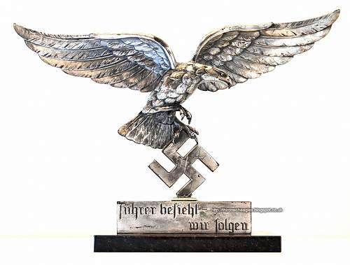 Desk Luftwaffe eagle