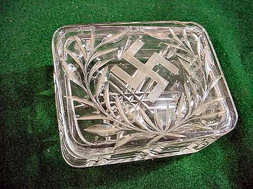 Concentration Camp Glass with Swastika - Thoughts?