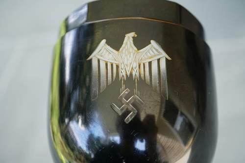 German Glass Gobblet