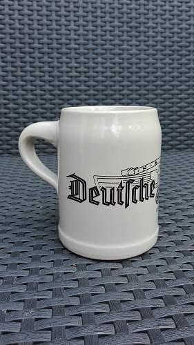 Bierkrug NSKK Deutsche Kraftfahrt 1938