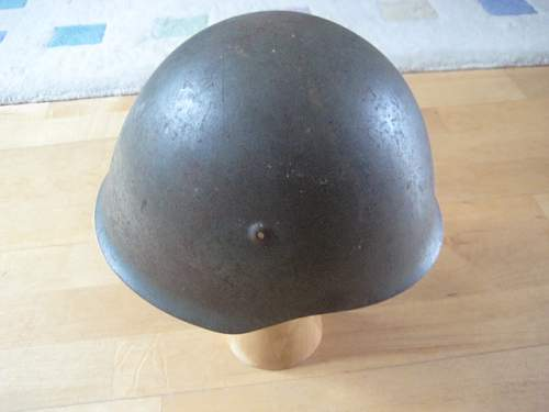Helmet in a cellar - where's it from ?