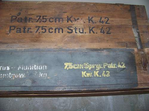 Normandy Panther munition cases
