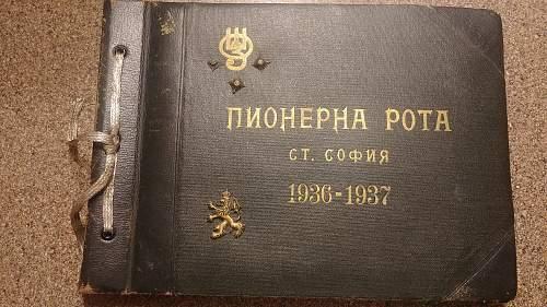Bulgarian photo album