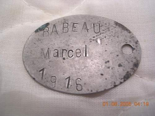 Old French tag identified