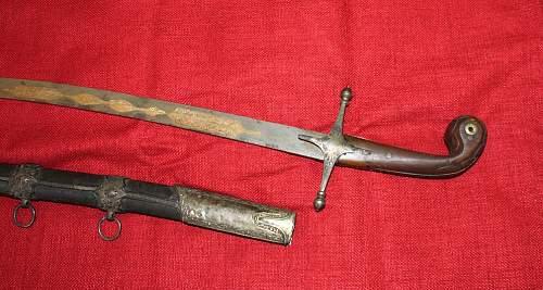 Ottoman shamshir sabre ?