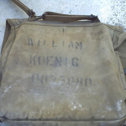 Car boot find; US '42 bag