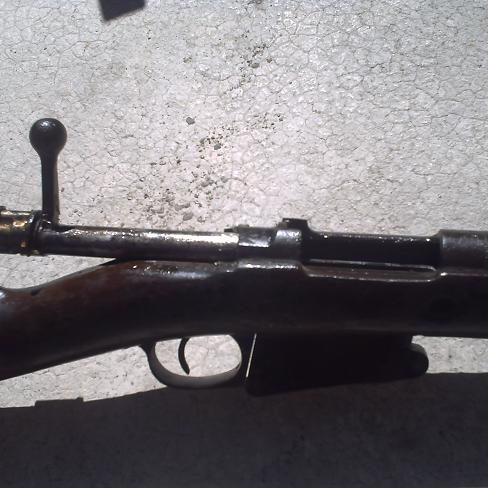 Car boot find; Belgian Mauser