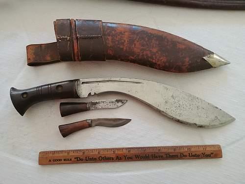 Garage sale knives