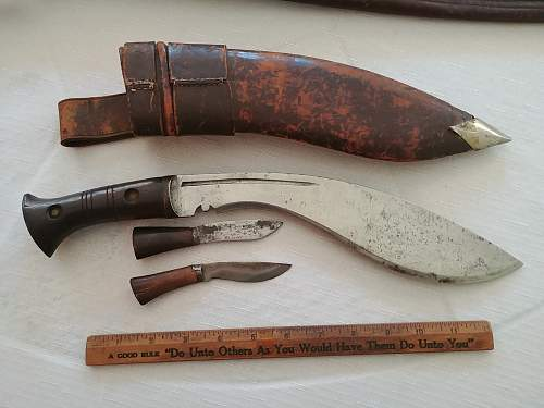 Garage sale knives