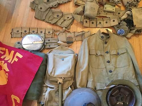 US WW1-2, Korea, Vietnam grouping