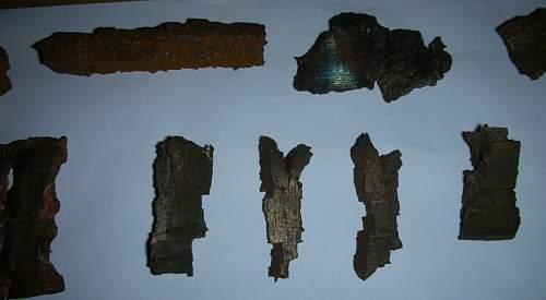 WW2 Bomb/Shell Fragments