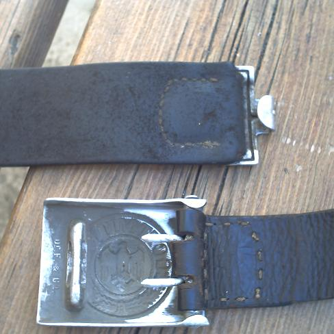 Rare maker WH buckle?