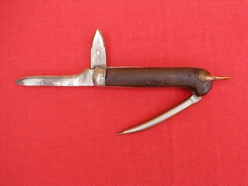 english jack knife first model
