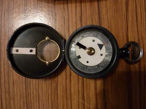 Very Rare, 1900 era Night Marching Compass