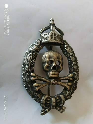 old German badge & ring - what do I have here?