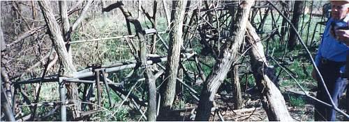 Waco CG4A glider graveyard KC area.
