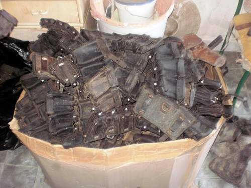 Lot of German WW2 equipment
