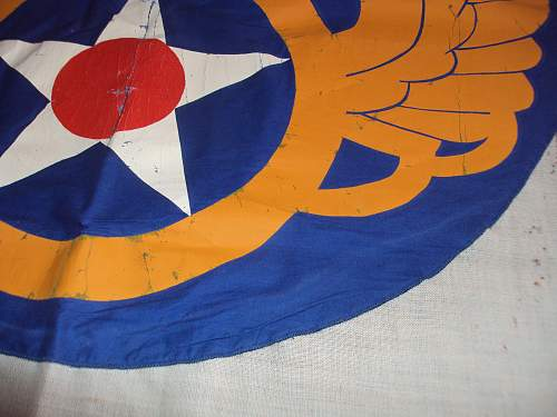 8th army air force banner