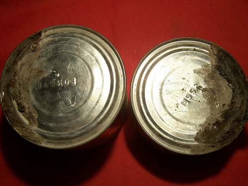 Red Army meat ration found in the attic