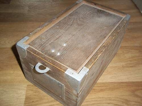 A box found in Germany 1945