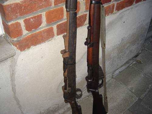 lee enfield relic from the B.E.F  1940