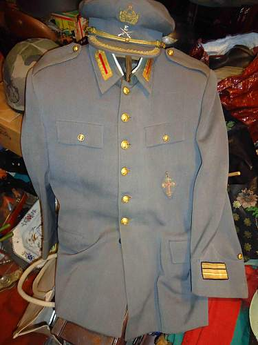 1940`S  Portuguese officers  Army  Cap and Tunic