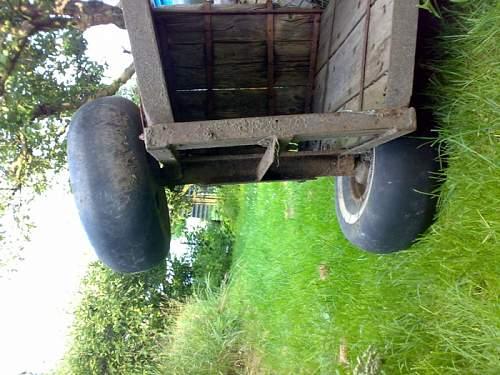 Me 109 wheals in farmer garden