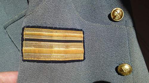 My new tunic and cap