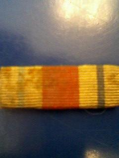 Rifle badge and Bar.