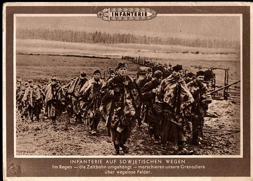 German, French and Polish WWII Postcards