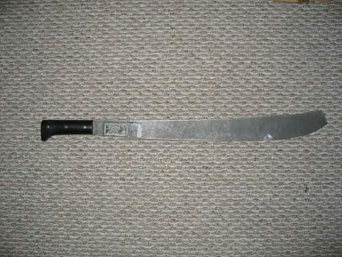 strange marks on this sword..Anybody know something??