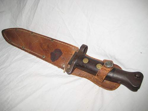 Old bayonet found in yard sale, WWI?
