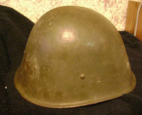 Weekend Helmet Finds  Dutch KNIL and Salty M-1
